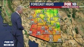 Morning Weather Forecast - 5/11/21