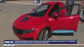 Groundbreaking ceremony held for new electric vehicle facility in Mesa