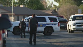 Phoenix PD: Suspect shot after pointing firearm at officer while exiting home