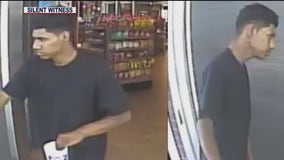 Phoenix PD searching for suspect who drove stolen car, striking another vehicle while victim was inside