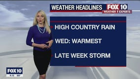 4 PM Weather Forecast - 5/17/21
