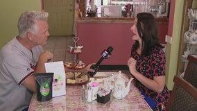 Pink Door Tea House reopens in Glendale