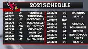 Cardinals to open 2021 regular season on road against Titans