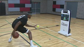 The Lazer virtual basketball trainer