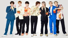 BTS Meal arrives at McDonald's, along with limited-edition merch