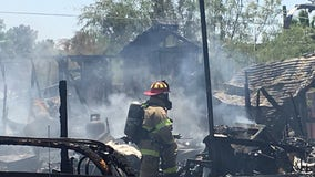 FD: Body found in fire near Signal Butte and University Drive near Apache Junction