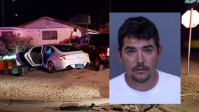 Buckeye police sergeant hurt in crash with suspected drunk driver