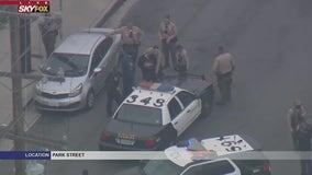 Suspect who led officers on pursuit in stolen U-Haul taken into custody in Bellflower