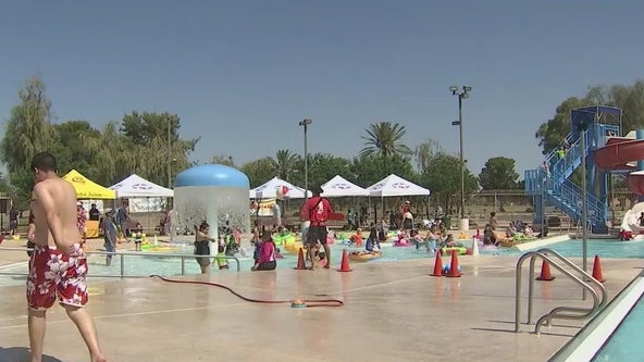 Some city pools getting ready for reopening in Phoenix