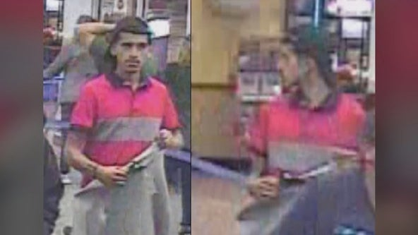 Phoenix Police search for credit card theft suspect