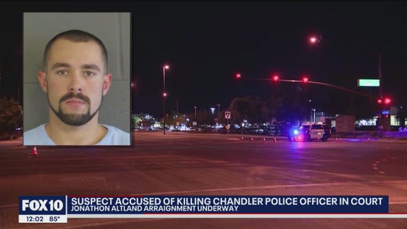 Man accused of killing Chandler officer to enter plea in court in June