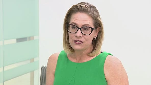 Sen. Kyrsten Sinema talks microchips, border situation during trip to Arizona