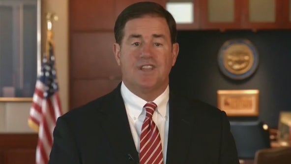 Governor Doug Ducey announces back to work incentives