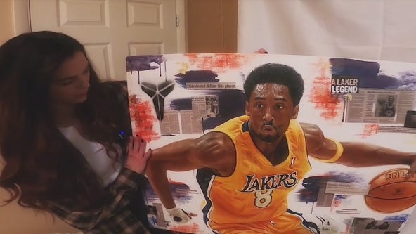UArizona senior paints lifelike photos of celebrities