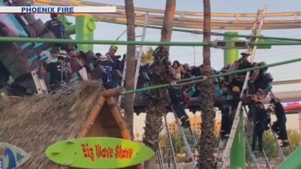Family recounts harrowing ordeal after getting stuck on roller coaster ride for 2 hours