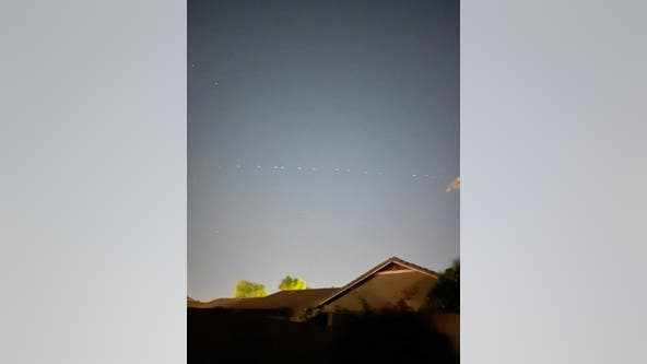 Arizona residents report seeing dozens of strange lights in the sky