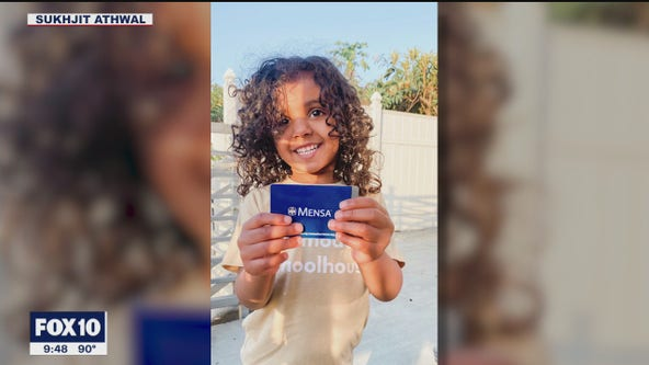 Girl becomes youngest American Mensa member