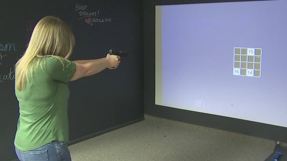 Inside an ammo-less gun range in Ahwatukee