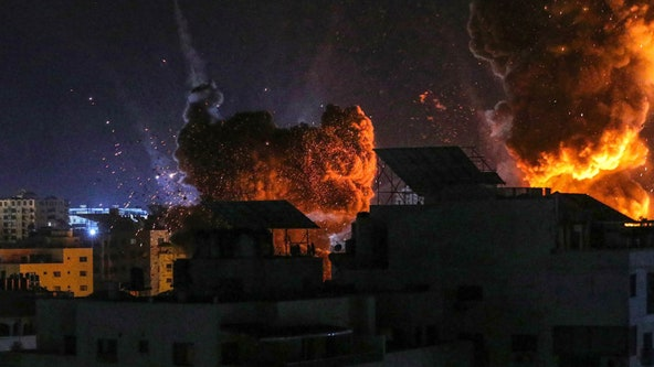 Airstrikes partially destroy only lab able to process COVID-19 tests in Gaza