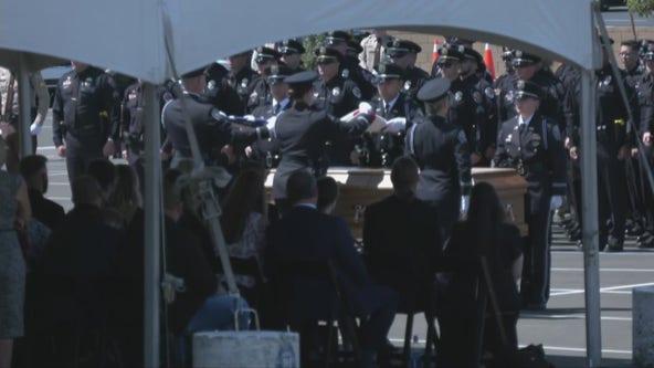 Memorial service held for fallen Chandler police officer