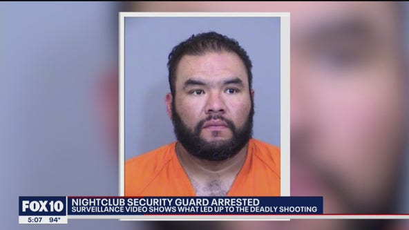 Nightclub security guard arrested in deadly Phoenix shooting