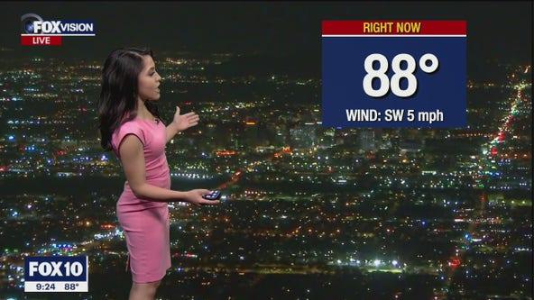 Evening Weather Forecast - 5/18/21