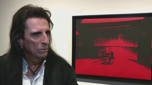 Alice Cooper to auction off rare Andy Warhol painting