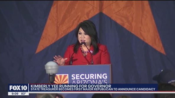 Two Arizona Republicans running for governor