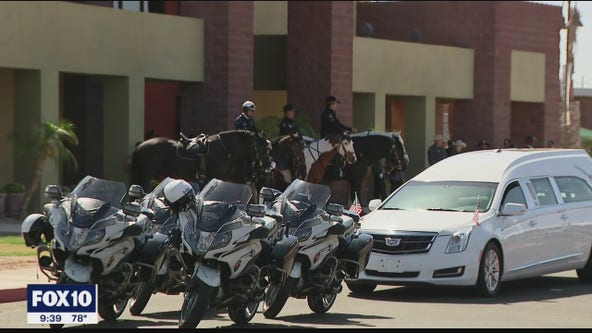 Remembering Officer Chris Farrar: Memorial services underway
