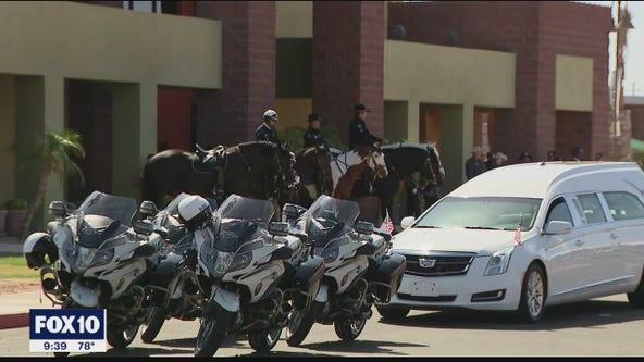 Remembering Officer Chris Farrar: Memorial services underway