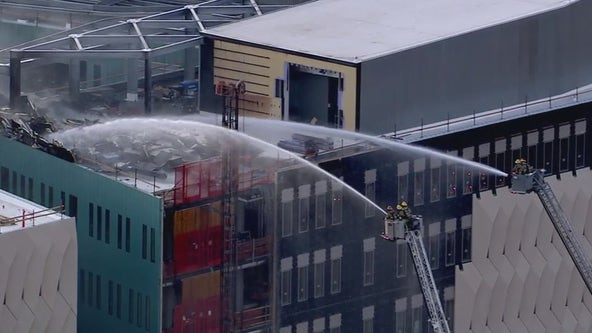 Fire breaks out at ASU building under construction in Tempe