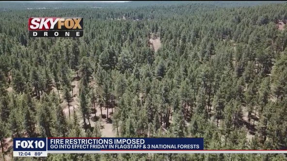 More Arizona forests impose fire, smoking restrictions