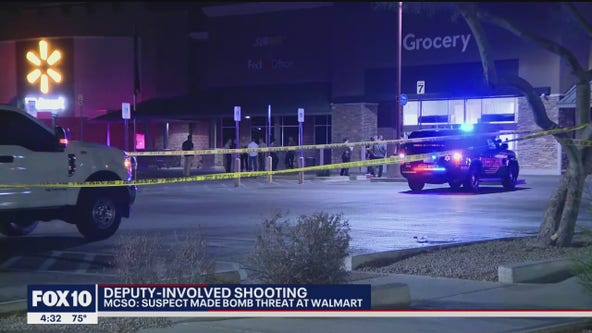 Shots fired after man makes bomb threat at Queen Creek Walmart