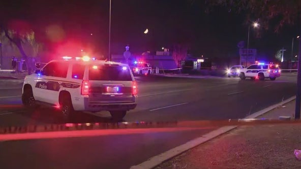 PD: Man shot while crossing street in Phoenix