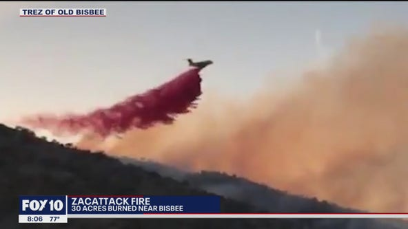Evacuation orders lifted for Zacattack Fire burning near Bisbee