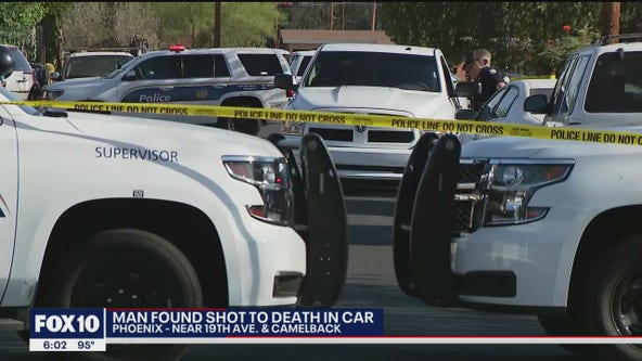 Man found shot to death in Phoenix