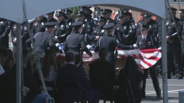 Funeral held for fallen Chandler police officer