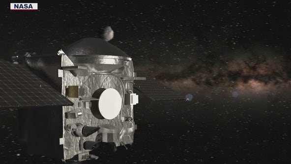 NASA spacecraft OSIRIS-REx heads back to Earth