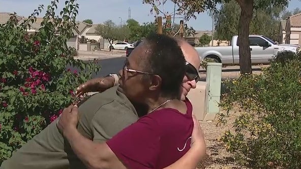 Off-duty paramedic rescues fallen El Mirage woman after medical emergency
