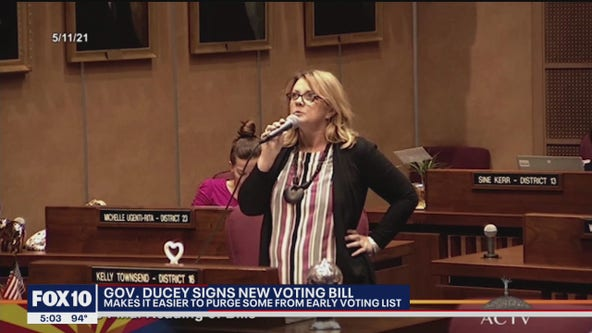 Gov. Ducey signs bill making it easier to purge some from early voting list