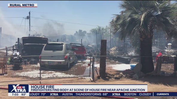 One dead in fire near Apache Junction