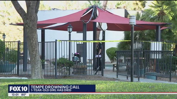 Child dies after being pulled from water in Tempe