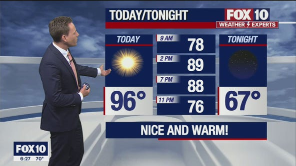 Morning Weather Forecast - 5/9/21