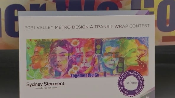 East Valley high school student wins Valley Metro design contest