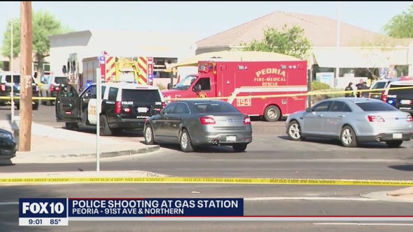 Suspect dead following Peoria police shooting