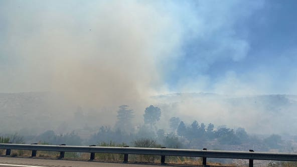 Crews battling wildfire in Gila County that prompted closure of a portion of US 60