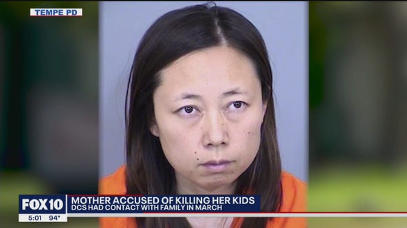Arizona DCS had open case with Tempe mother accused of killing kids