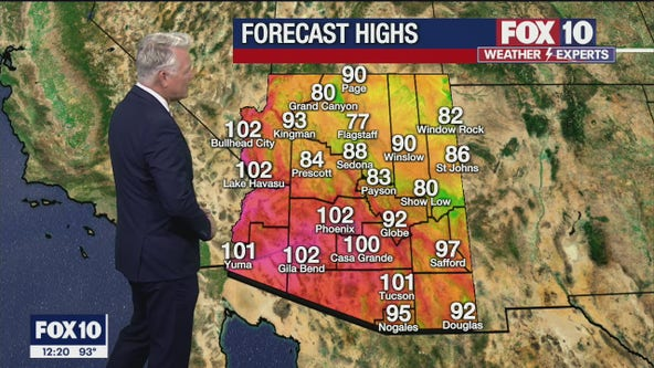Noon Weather Forecast - 5/13/21