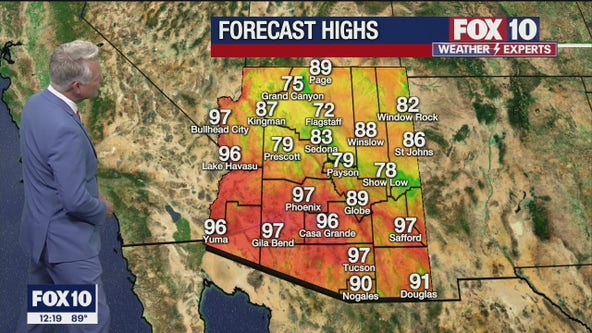Noon Weather Forecast - 5/7/21