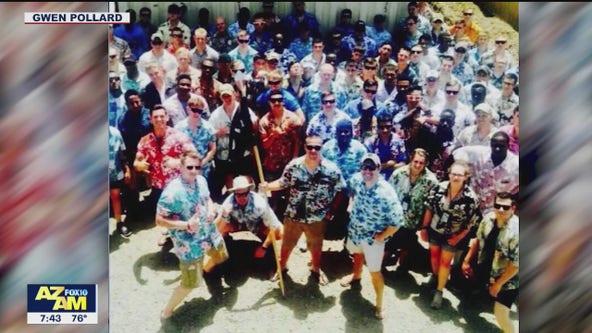 TyPad Sunday: Phoenix woman collects Hawaiian shirts for soldiers overseas
